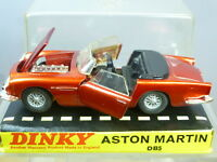 "VINTAGE  DINKY TOYS MODEL No.110  ASTON MARTIN DB5  COUPE    ""PERSPEX BOX""  MIB"