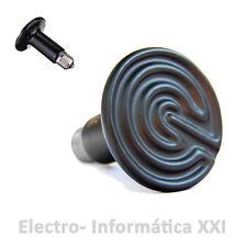 Bombilla Lampara de Calor Ceramica Negra 150W Incubadoras Terrarios Envio 24-72H