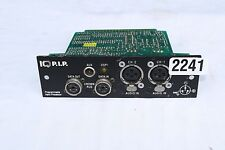 CROWN 1Q PIP PROGRAMMABLE INPUT PROCESSOR #2241 (ONE)