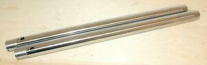 Norton Roadholder fork stanchions pair hardchrom Featherbedframe Gabelstandrohre
