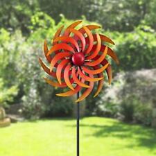 Garden Large Kinetic Wind Spinner Metal Yard Outdoor Windmill Lawn Rotator Decor