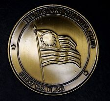 First U.S. Flag Medallion, The History Channel Club, American History Collectors