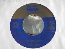 45 ! TONY ALLEN THE BACK DOOR / NO ONE ON CLASSIC RECORDS NEAR MINT COPY