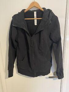Lululemon Scuba Full Zip Black Hoodie - Size 16 (Lulu Size 12)