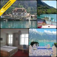 Kurzurlaub Schweiz 3 Tage 2 Personen Hotel Seeblick Hotelgutschein Brienzersee
