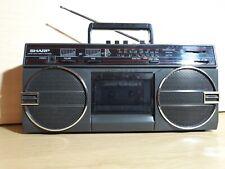 Sharp GF3939 Ghettoblaster Radio Recorder Cassette Kassettenrecorder