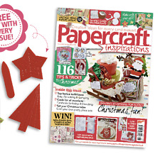 Papercraft Inspirations Magazine Issue 146 Christmas 2015 (new) with Free Gift