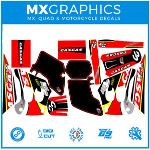 Graphics Decal Motorcycle Wrap Sticker Kits Fits With Gas Gas 2000 Red(not OEM)