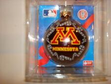 NCAA - M Minnesota Glass Ornament Sports Collectors Series