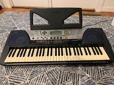 Yamaha Psr 340 Keyboard W/ Disk Drive - Power Supply and Stand