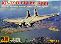 Northrop XP-97B Flying Ram American RAM Fighter - RS Models Kit 1:72 92111 Nuovo