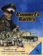 ROMMEL'S BATTLES - CLASH OF ARMS GAMES - SENT FIRST CLASS