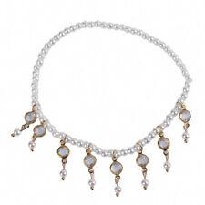 Women Beads Tassel Ankle Chain Elegant Anklet Beach Feet Bracelet Jewelry DB
