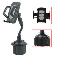 Universal Adjustable Car Mount Flexiable Cup Holder Cradle for Cell Phone HOT