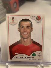 2018 PANINI FIFA WORLD CUP CRISTIANO RONALDO PORTUGAL MADRID STICKER CARD 130