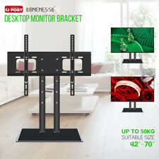 "Universal Table Top TV Pedestal Stand Base fit 42""-70"" for LED LCD Plasma TV"