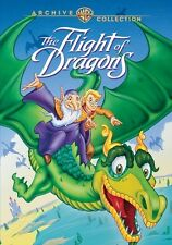 THE FLIGHT OF THE DRAGONS New Sealed DVD Rankin Bass Warner Archive Collection