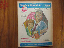 Oc-1973 Boston Sunday Herald TVue Mag(NORMAN FELL/DIERDRE LENIHAN/NEEDLES & PINS