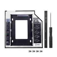 Universal 9,5 mm Caddy SATA 3 HDD SSD Festplatte CD / Adapt Optical Bay DVD N3H8