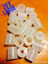 20x Large Locator - CUPS ONLY - Letter Fixings For Sign Makers Snapfix Locators