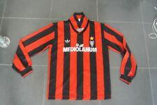 Maglia Shirt Maillot Camiseta Trikot Jersey AC Milan Mediolanum adidas 90 91