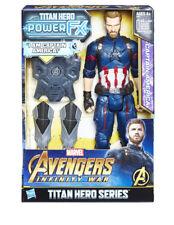 "Hasbro Marvel Avengers 3 Infinity War 12"" TITAN Hero Power FX Captain America"