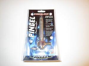 Harris Hi Flow Fuel Tap. Single Outlet c/w Reserve. 1/4 NPT Thread.