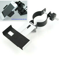 Metal Spotting scope astronomical Telescope Mount adapter Clip for Mobile Phone