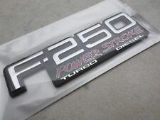 NEW 94-98 OBS F250 POWERSTROKE TURBO DIESEL DOOR FENDER BADGE EMBLEM LOGO DECAL