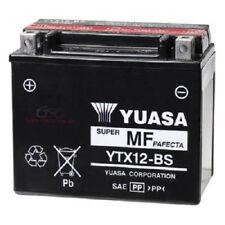 BATTERIA YUASA YTX12-BS 12 V 10 AH KAWASAKI ZZR 600 ER 6F ER 6N KLE VERSYS 650
