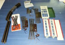 17 tlg. Fleischmann Modellgleis Konvolut + 5 Teile Entladerampe H0