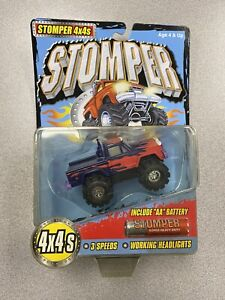 Tinco Stomper 4x4 Flame Truck - On Card - Rare - Year 2000