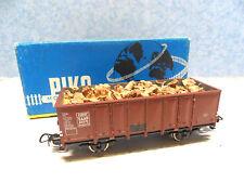 J 14) wagon tombereau europ SAAR PIKO en BO  pour train electrique HO