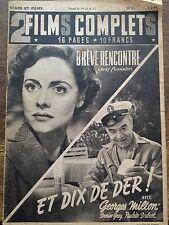 """FILM COMPLET 1949 N 21 """" BREVE RENCONTRE """" avec  CELIA JOHNSON et TREVOR HOWARD"""
