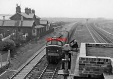 PHOTO  BIRTLEY RAILWAY STATION CO DURHAM REMAINS 1965 NER ECML; JUNCTION OF BRAN