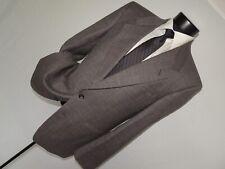 "Yves Saint Laurent 'YSL"" men's Vintage 1980's wool & linen jacket coat 42 R"