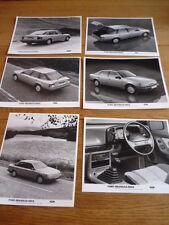 FORD GRANADA  MK III, GHIA  PRESS PHOTOS X 6