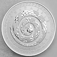 Canada 2013 $10 Year of the Snake 1/2 oz. Pure Silver Specimen Coin & COA