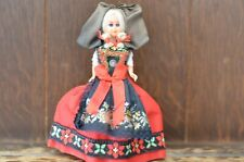 Fabulous VINTAGE Alsatian Alsace Traditional Costume Doll - 14cm Tall