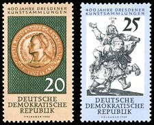 EBS East Germany DDR 1960 Dresden art collections Michel 791-792 MNH**