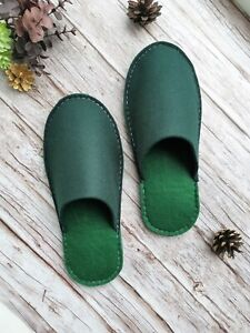 Felt slippers, Men slippers, Warm and cozy slippers