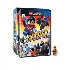 Lego Justice League - Attack of the Legion of Doom w/Figurine (Dvd) New