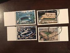 1997 Sao Tome & Principe Stamps (Set of 8) - Soccer - Used