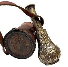 Antique Jar Style Royal Handheld Brass Telescope Pirate Spyglass Sea Scope Case