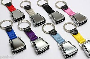 Flugzeug Sicherheitsgurt Schnalle Schlüsselanhänger - Schlüsselring - Shiny -