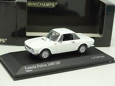 Minichamps 1/43 - Lancia Fulvia 1600 HF Blanche