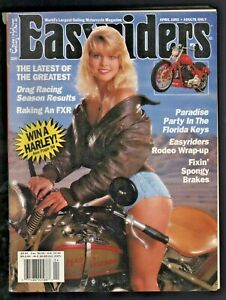 1992 April Easyriders - Vintage Motorcycle Magazine with David Mann Poster