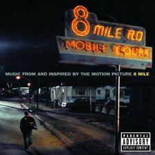 8 MILE SOUNDTRACK CD MIT EMINEM 50 CENT UVM NEW+!!!!