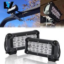 2x 7INCH 36W CREE LED WORK LIGHT BAR FLOOD SUV OFFROAD LAMP DRIVING BOAT ATV TB2