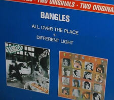 """12"""" Bangles (Two Originals) All Over The Place + Different Light 80`s CBS"""